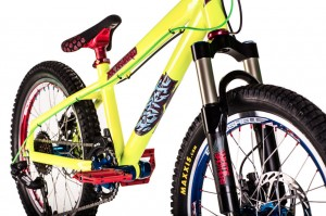 The HT1 with White Brothers Rustler fork