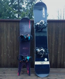 It's hard to believe, but these two boards are technically the same model